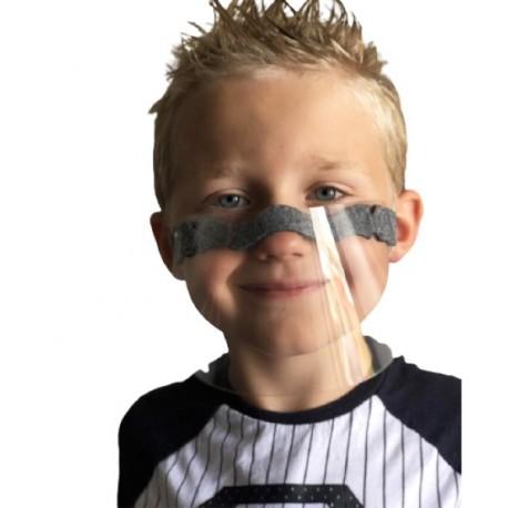 CALYPSO KIDS Masque – Visière Transparent Pour La Protection De Bouche Et Du Nez Pour Enfants